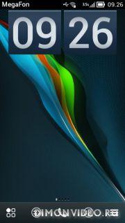 DigitalClock 2 box mode by Cleener