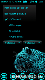 Profile Widget Bars By Vitan04