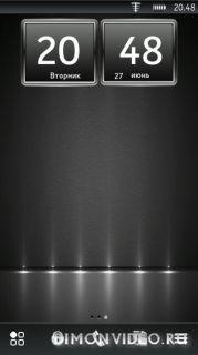 Big Clock widget Mod