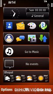Nokia theme Orange by LA