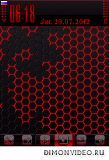 Honeycomb Red by Shocker