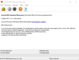 Как восстановить пароль к PDF файлу?