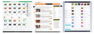 Шаблоны для Android сайтов на DLE