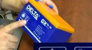 Видеообзор GEL аккумулятора Delta GX 12-12