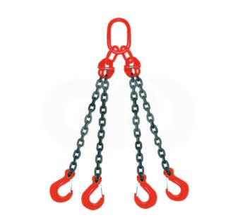Четырехветвевые цепные стропы