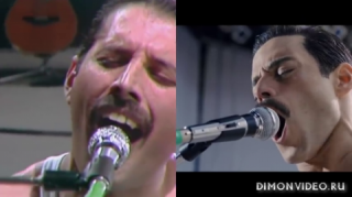Queen   -  LIVE AID (Side By Side with Rami Malek)