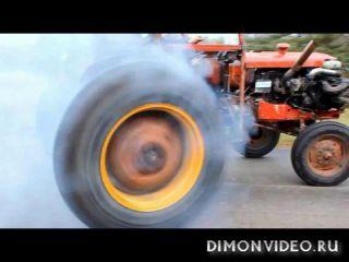 гоночный трактор от Volvo
