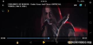 CHILDREN OF BODOM - Under Grass And Clover (OFFICIAL VIDEO) (2018)
