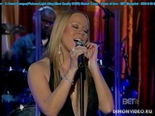 Mariah Carey - Vision of love - BET Blueprint - 2005