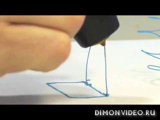 Первая в мире 3D-ручка для рисования