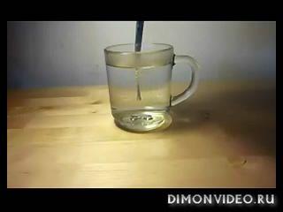 Как растворить ложку в воде