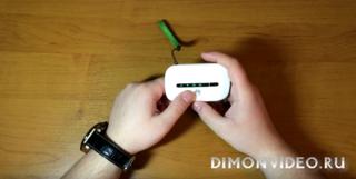Видеообзор Wi-Fi роутера Huawei E5330