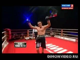Д.Лебедев - С.Сильгадо. Нокаут. (17.12.2012)