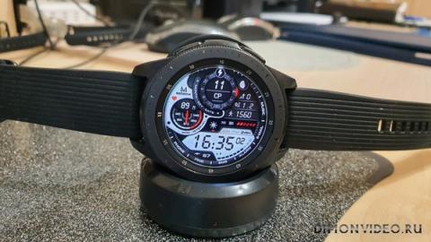 Samsung Galaxy Watch - немного про использование.