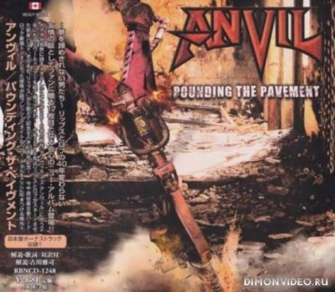 Anvil - Pounding the Pavement (Japanese Limited Edition) (2018)