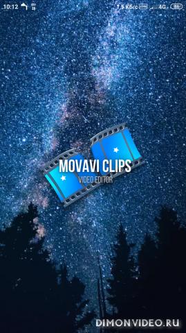 Видеоредактор Movavi Clips 4.8