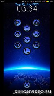 C10 v2 Blue Icon Pack