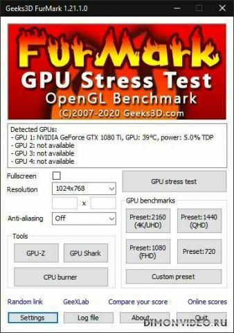 FurMark 1.23.0.0