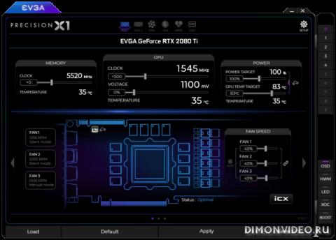 EVGA Precision X1 1.0.0.0