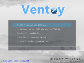 Ventoy (bootable USB drive) 1.0.30