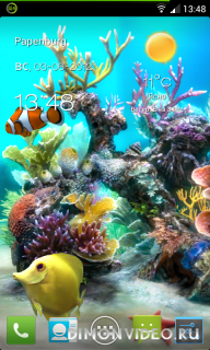 Sim Aquarium Live Wallpaper