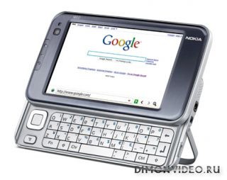 Nokia N810 Internet