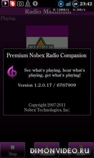 Premium Nobex Radio Companion