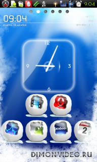 Winter Snow  Premium Theme