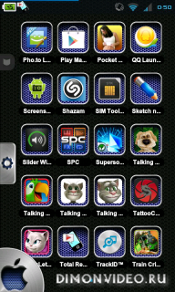 TSF Shell Theme IPhone